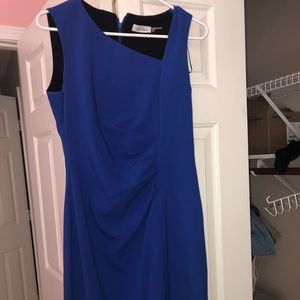Gorgeous royal blue Calvin Klein dress